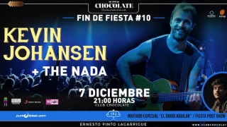 Kevin Johansen + The Nada en Club Chocolate