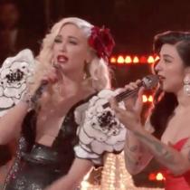 Mon Laferte y Gwen Stefani presentan canción navideña en Live The Voice
