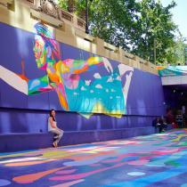 Color bajo tierra: cómo está cambiando el casco histórico de Santiago