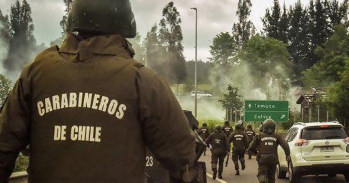 Ataque incendiario afectó máquinas agrícolas en La Araucanía