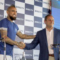 Presentación de Arturo Vidal como principal rostro deportivo de DirecTV