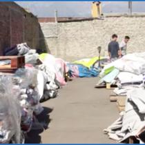 El emprendimiento que recicla los residuos plásticos de la gráfica publicitaria