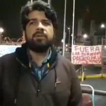 Pablo Klimpel, dirigente portuario, sobre incidentes en Valparaíso: