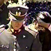 La  criticada intervención del nieto de Pinochet en el funeral del dictador
