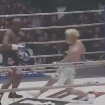 El K.O técnico de Mayweather que humilló a Tenshin Nasukawa en un round