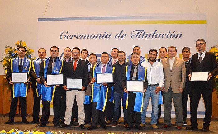 CFT de la Energía de Hualpén titula a su primera generación de profesionales