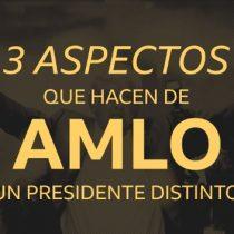 Toma de protesta: 3 aspectos que hacen de AMLO un presidente distinto a sus antecesores (y qué dicen sus críticos)
