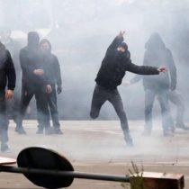 Con disturbios en Bruselas termina manifestación de la ultraderecha en contra del Pacto Migratorio