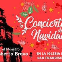 Concierto de Navidad con pianista Roberto Bravo en Iglesia de San Francisco