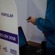 Bochorno por la elección electrónica en la UDI no logra silenciar las críticas por el crimen de Camilo Catrillanca