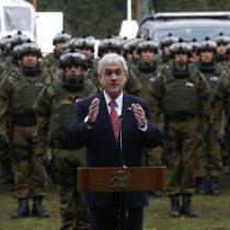 Gobierno cede y Presidente Piñera confirma retiro de Comando Jungla de La Araucanía