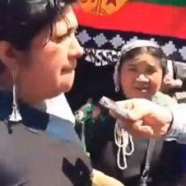 Dirigenta del sindicato de mujeres mapuche hortaliceras Kelluzomowen envía mensaje a alcalde deTemuco
