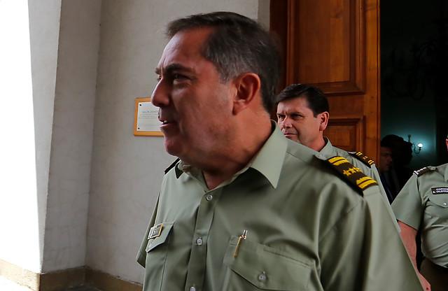Hermes Soto se enteró por la prensa: al general director lo tomó por sorpresa el video de la muerte de Catrillanca