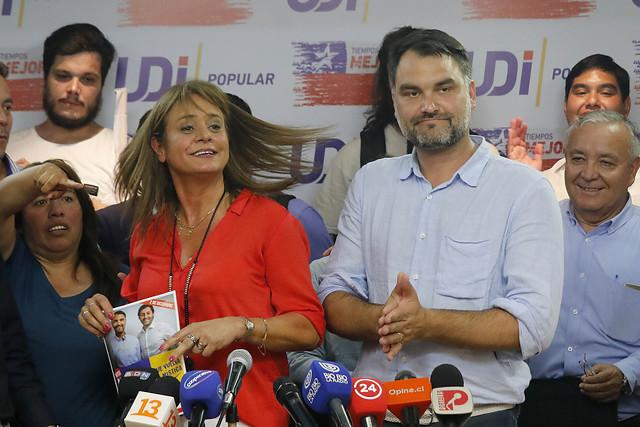 La UDI ratifica su línea más dura y conservadora: Jacqueline van Rysselberghe es reelegida en la presidencia del partido