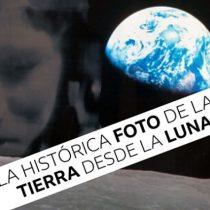 Apolo 8: cómo se hizo la histórica foto de la Tierra desde la Luna