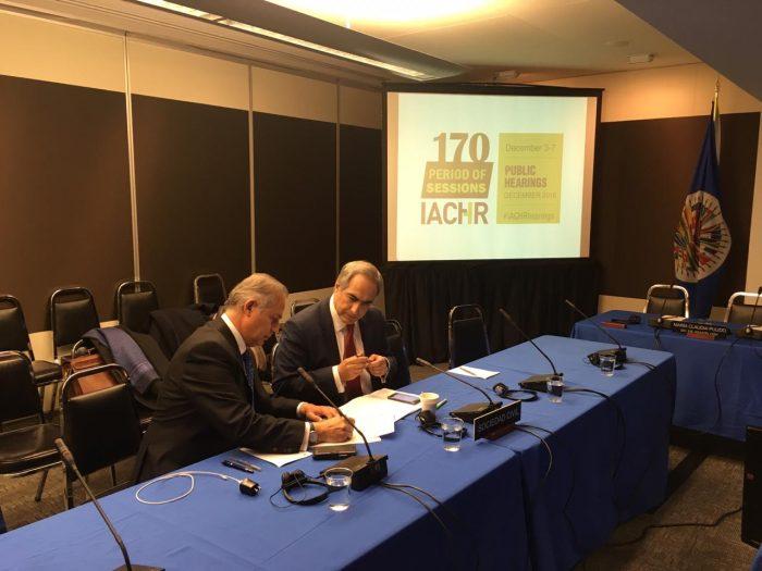 Comisión de DD.HH. de la OEA recibió a representantes que denunciaron vulneraciones en Sename