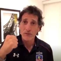Ya es un hecho: con este video Mario Salas confirma su llegada a Colo Colo