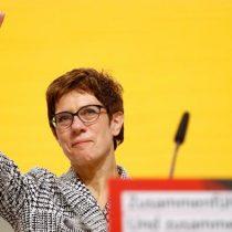Annegret Kramp-Karrenbauer, sucesora de Merkel en la CDU