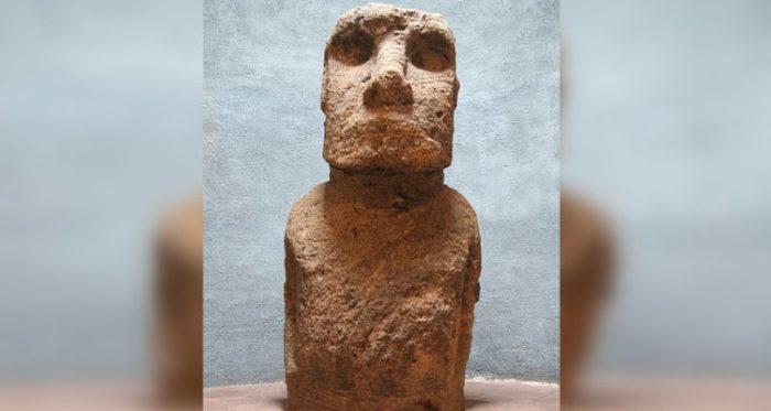 Despidiendo al Moai