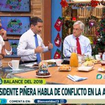 La tajante aclaración de Mauricio Jürgensen a Sebastián Piñera sobre sus afirmaciones de la violencia descontrolada en La Araucanía