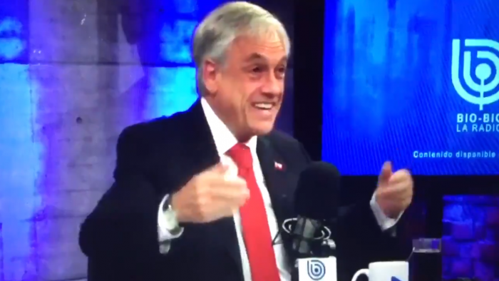 Piñera otra vez acusado de machista: agradeció taza de café porque su esposa no está en Santiago