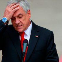 Piñera sigue bajando en la Cadem pese a recurrir a la carta populista del tema migratorio