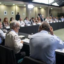 """Piñera sigue defendiendo su rechazo al Pacto Migratorio y destaca apoyo de Frei porque """"entiende muy bien las responsabilidades"""