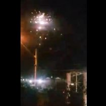 Nuevos registros muestran la noche del miércoles de los vecinos de la población Parinacota en Quilicura
