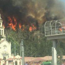 Sospechoso de iniciar incendio en Casablanca murió de un paro cardíaco