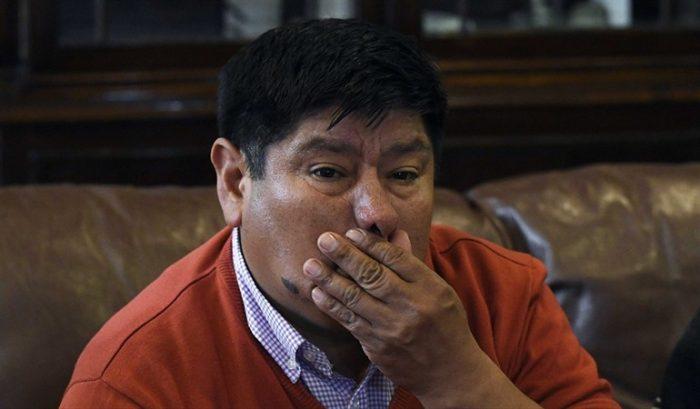 """Marcelo Catrillanca rechaza cautelares a formalizados por muerte de su hijo: """"La justicia es inoperante y vamos a seguir luchando por la verdad"""""""