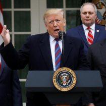 """Trump amenaza con declarar """"emergencia nacional"""" por el muro"""