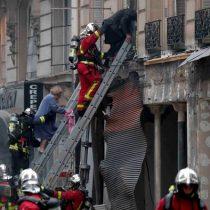 Explosión en París por posible escape de gas: al menos dos muertos