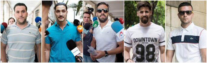 La Manada sigue libre: Tribunal español mantiene beneficio para los condenados