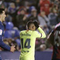 Barcelona de Vidal no pudo ante el Levante en partido por la Copa del Rey