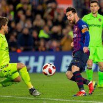 3-0: Barcelona de Vidal remonta ante el Levante en partido por Copa del Rey
