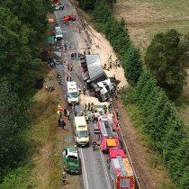 Tragedia en Valdivia: 9 muertos en accidente que involucró a furgón que trasladaba a pacientes dializados