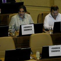 """""""Renuncia Chadwick"""": con carteles, diputados de oposición pidieron salida del ministro"""