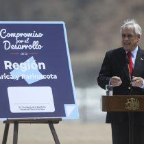 """Piñera sigue defendiendo el proyecto """"Admisión Justa"""" en gira por el norte"""