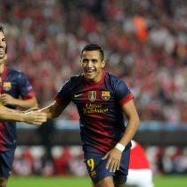 Alexis Sánchez es protagonista en competencia por el mejor gol en la historia del Barcelona