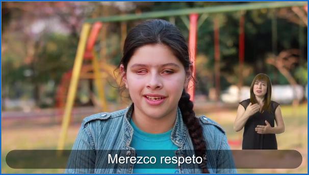 Campaña promueve el buen trato hacia niñas, niños y adolescentes con discapacidad