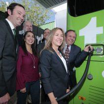 Presentan el primer bus eléctrico interurbano de Chile y América