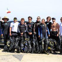 Limpieza del fondo marino Casa Las Cujas – Volvo