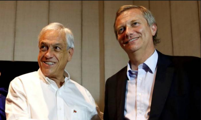 JA Kast, parapetado a la derecha de Piñera