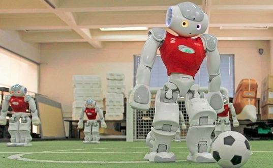 La roja robótica