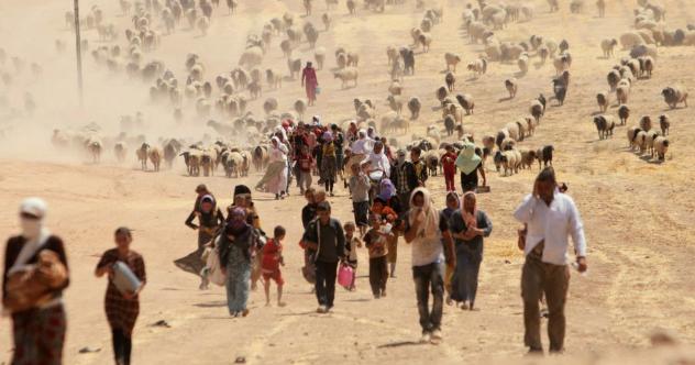 Refugiados climáticos: la crisis humanitaria del calentamiento global a la que Piñera da la espalda