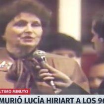 """El """"fake news"""" sobre la muerte de Lucía Hiriart que confundió a los chilenos"""