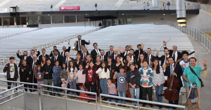 Orquesta infantil-juvenil de Limache cumple un sueño musical