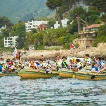 Remando Tour lleva el deporte y la solidaridad a Zapallar