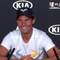 Rafael Nadal sorprende a periodista durmiendo y genera risas en plena conferencia de prensa
