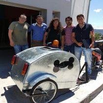 Crean en Argentina la primera moto-ambulancia para animales del país
